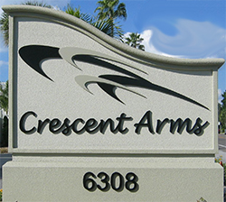 Crescent Arms Sign